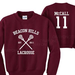 Teen Wolf Beacon Hills McCALL 11 Sweatshirt Jumper Adults Unisex
