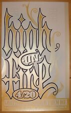 2006 High on Fire - Silkscreen Concert Poster S/N by Ken Adams