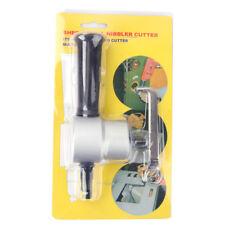 Double Head Sheet Nibbler Metal Cutter Saw Cutting Drill Bits Repair Tool UK