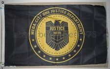 Judge Dredd 2000 AD 3' x 5' badge Flag Banner 2 Sylvester Stallone - USA Seller
