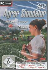 Agrar Simulator 2012 PC CD ROM NEU Challenger Fendt Massey Ferguson Valtra