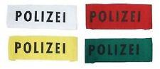 10 x Armbinde Karneval Fasching Restposten Sonderpreis Konvolut Polizei 392