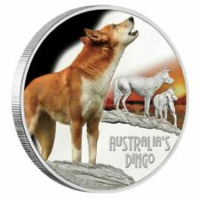DEADLY & DANGEROUS 2018 TUVALU AUSTRALIAN DINGO 1 OZ. SILVER PROOF COIN