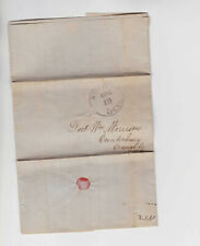 US 1851 5c stampless complete cover          q1043