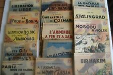 """MILITARIA : LOT 14 REVUES ANCIENNE COLLECTION """"PATRIE LIBEREE"""" WW2- BATAILLES"""