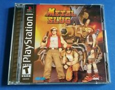 PS1 Metal Slug X PlayStation 1-MINT Condition & 100% Authentic! Rare Black Label
