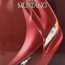 1995 Ford Mustang Sales Brochure Booklet Vintage Dealer Features Trim Specs