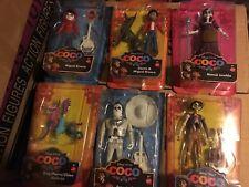 Disney Pixar COCO Complete Set of 6 Figures MIGUEL HECTOR DOG DANTE ERNESTO MAMA