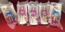 5-Vintage 1992 Barbie Dolls McDonalds Happy Meal Toys  #007