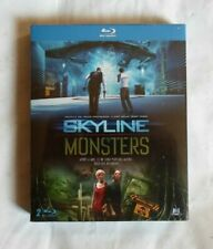 SKYLINE ET MONSTERS  Blu Ray