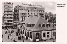 Germany Frankfurt am Main Hauptwache Real Photo sk4180