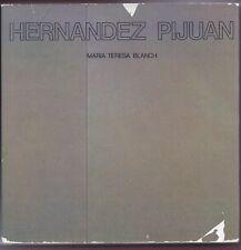 Libro Significación Humana y Pictórica en los Paisajes de Hernández Pijuán. 1979