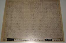 Microfich Ersatzteilkatalog Audi A4 B5 S3 Avant quattro Modelljahre 1998 - 1999!