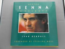 AYRTON SENNA: A TRIBUTE - IVAN RENDALL - 1994 HB DJ BOOK