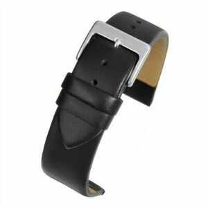 VintageTime Watch Straps - Smooth Calf Grain Leather Replacement Watch Bands