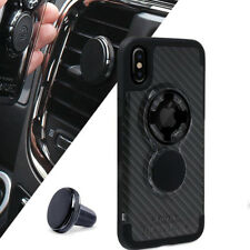 Rokform RX™ Case Rugged Engineered Carbon Black & Magnetic Car Mount iPhone 10 s