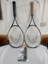 Lot Of 2 Tennis Rackets Racquets Head Constant Beam 4 3/8 Aluminum oversize
