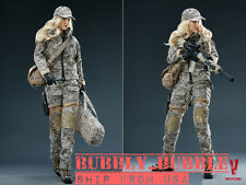 1/6 Jessica Alba Camouflage Female Soldier Figure Set VCF-2030 SHIP FROM USA