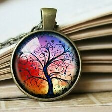 Tree of Life Necklace Pendant Bronze Charm & Chain Gifts for Her Mum Girls Jewel