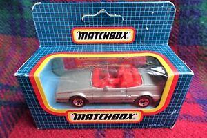 MATCHBOX MB65 silver Cadillac Allante convertible (MIB) 1987 Macau