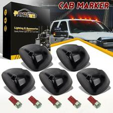 5xSmoke 264141BK Cab Roof Lights+Red 161 5050 LEDs for 94-98 Dodge Ram 2500/3500