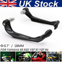 2PCS Aluminum Alloy CNC Motorcycle Brake Clutch Lever Protector Hand Guard UK