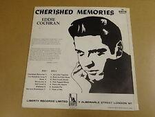 EDDIE COCHRAN - CHERISHED MEMORIES / BELGIAN LP LIBERTY 83072