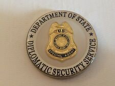 Department of State Diplomatic Security Service 90 Year Challenge Coin