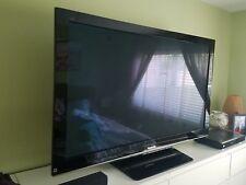 "58"" Panasonic Thx Certified Viera Tc-P58V10 1080p Hd Plasma Television one owner"