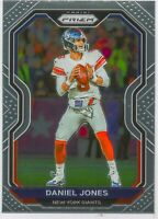 Daniel Jones 2020 NFL Panini Prizm Football Chrome Card #158 New York Giants