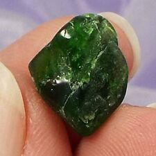 Rare small polished piece of Chrome Diopside crystal 1g SN21284