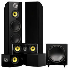 Signature Series Surround Sound Home Theater 5.1 Channel Speaker System - Black