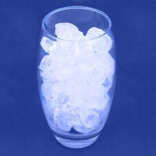 LARGE DECORATIVE GLASS STONES Natural Clear Rocks Vase Plant Pot Filler Nuggets
