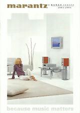 Marantz HiFi Katalog Prospekt 03/04 SR9300 MA6100 DV8400 PM7200 CD7300 ST6000