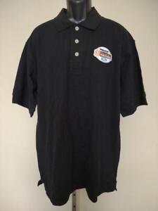New Champ Car World Series Mens Size 2XL Black Polo Shirt