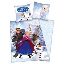 Linge de lit Herding Disney Frozen Ice Queen Anna Kristoff reforcer 135x200cm