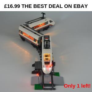 £16 LED Light Kit ONLY For 60051 High Speed Passenger Train Lighting Bricks kit