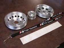 Fits Subaru BRZ Scion FRS Toyota GT86 Light Weight Pulley Pulleys Crank W/P ALT