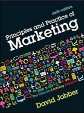 Principles and Practice of Marketing by David Jobber (2010)
