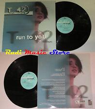 LP T 42 FEAT SHARP Run to you 33 rpm 12'' 2000 italy nocolors NO cd mc dvd