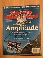 SIGNED - Sports Illustrated Shaun White Winter Olympics Amplitude + Pic