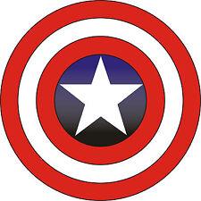 "Captain America Vinyl Sticker Decal 14"" (full color)"