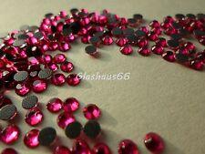 1000 Hotfix Strasssteine, *Hot Pink*, SS16~3,8-4mm, Super Qualität