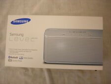 NEW SEALED SAMSUNG LEVEL BOX MINI BLUETOOTH AUDIO SPEAKER IPHONE SONY SILVER