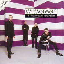 ★☆★ CD Single WET WET WET If I never see you again 2-track CARD SLEEVE NEW ★☆★
