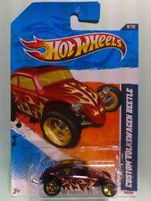 """Hot Wheels 2011 HEAT FLEET #9/10 """"Custom VolksWagen Beetle"""" Collector #99/244"""