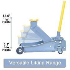 New listing Arcan Heavy Jack Floor Service Duty Steel Low Profile Rapid Pump Car 3 Ton Lk