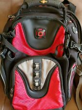 Swiss Gear By Wenger Red & Black Computer Backpack clean and never used