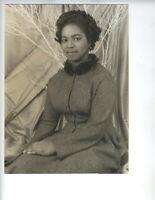 1953 NYC AFRICAN AMERICAN OPERA SINGER MARTHA FLOWERS PHOTOGRAPHER CARL VECHTEN