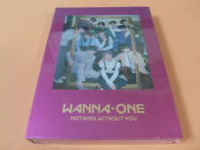WANNA ONE 1-1=0 Nothin With You (Wine Ver.) CD w/Booklet + Photocard +Ticket